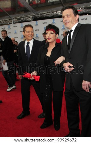 LOS ANGELES - APR 12: Michael Feinstein, Liza Minnelli, guest at the TCM Classic Film Festival opening night premiere - 40th anniversary restoration of 'Cabaret' on April 12, 2012 in Los Angeles, CA
