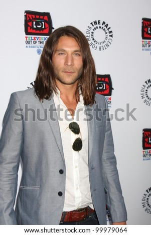 "LOS ANGELES - APR 12:  Zach McGowan arrives at Warner Brothers ""Television: Out of the Box"" Exhibit Launch at Paley Center for Media on April 12, 2012 in Beverly Hills, CA"