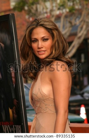 LOS ANGELES - APRIL 18: Jennifer Lopez at the 'Man On Fire' premiere on April 18, 2004 in Westwood, Los Angeles, California