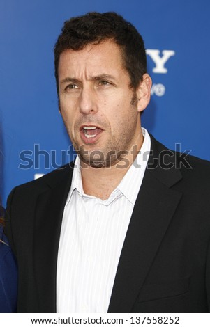 LOS ANGELES - AUG 6: Adam Sandler at the World premiere of 'Jack And Jill' at Village Theater in Westwood, California on August 6, 2011