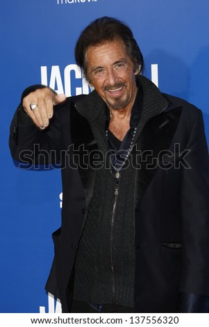 LOS ANGELES - AUG 6: Al Pacino at the World premiere of 'Jack And Jill' at Village Theater in Westwood, California on August 6, 2011