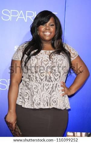 LOS ANGELES - AUG 16: Amber Riley at the Los Angeles Premiere of 'Sparkle' at Grauman's Chinese Theater on August 16, 2012 in Los Angeles, California
