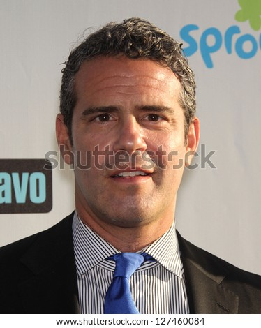 LOS ANGELES - AUG 02:  ANDY COHEN arriving to Summer 2011 TCA Party - NBC  on August 02, 2011 in Beverly Hills, CA