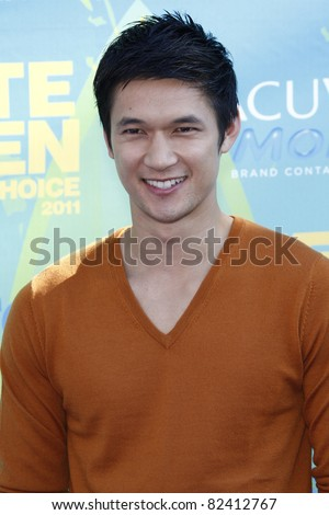 7: Harry Shum Jr arriving