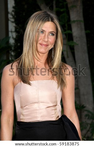 "LOS ANGELES - AUG 16:  Jennifer Aniston arrives at ""The Switch"" Premiere at ArcLight Theaters on August 16, 2010 in Los Angeles, CA - stock photo"