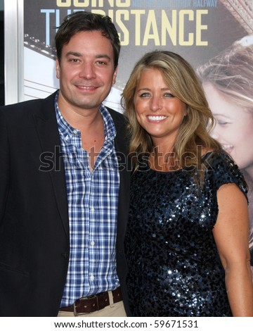 jimmy fallon wife. Jimmy Fallon amp;amp; Wife
