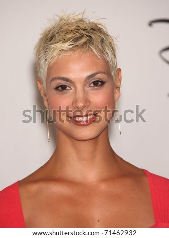 LOS ANGELES - AUG 01:  Morena Baccarin arrives at the 2010 Breakthrough Awards  on August 1, 2010 in Beverly Hills, CA