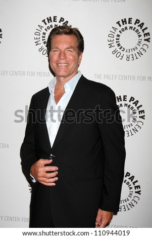 """LOS ANGELES - AUG 23:  Peter Bergman arrives at """"The Young & Restless"""": Celebrating 10,000 Episodes at Paley Center for Media on August 23, 2012 in Beverly Hills, CA - stock photo"""
