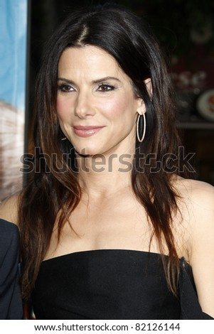"LOS ANGELES - AUG 1:  Sandra Bullock arriving at ""The Change-Up"" Premiere at Regency Village Theater on August 1, 2011 in Los Angeles, CA"
