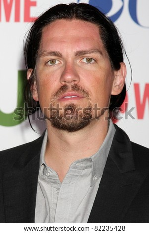 LOS ANGELES - AUG 3:  Steve Howey arriving at the CBS TCA Summer 2011 All Star Party at Robinson May Parking Garage on August 3, 2011 in Beverly Hills, CA - stock photo