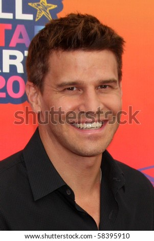 LOS ANGELES - AUGUST 2:  David Boreanaz arrives at the 2010 FOX Summer Press Tour Party at Pacific Park on the Santa Monica Pier on August 2, 2010 in Santa Monica, CA