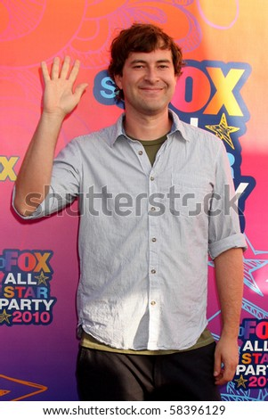 LOS ANGELES - AUGUST 2:  Mark Duplass  arrives  at the 2010 FOX Summer Press Tour Party at Pacific Park on the Santa Monica Pier on August 2, 2010 in Santa Monica, CA