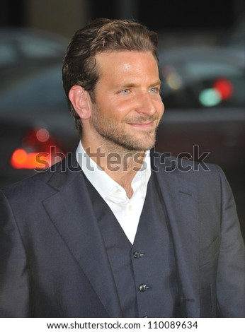"""LOS ANGELES, CA - AUGUST 26, 2009: Bradley Cooper at the world premiere of his new movie """"All About Steve"""" at Grauman's Chinese Theatre, Hollywood."""