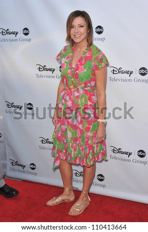 LOS ANGELES, CA - AUGUST 8, 2009: Christa Miller, star of Cougar Town, at the ABC TV 2009 Summer Press Tour cocktail party at the Langham Hotel, Pasadena.