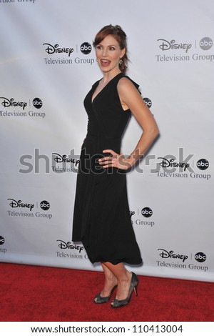 LOS ANGELES, CA - AUGUST 8, 2009: Heather Stephens, star of The Forgotten, at the ABC TV 2009 Summer Press Tour cocktail party at the Langham Hotel, Pasadena.