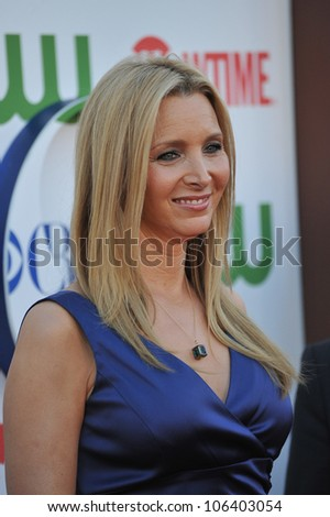 LOS ANGELES, CA - AUGUST 3, 2011: Lisa Kudrow, star of Web Therapy, at the CBS Summer 2011 TCA Party at The Pagoda, Beverly Hills. August 3, 2011  Los Angeles, CA