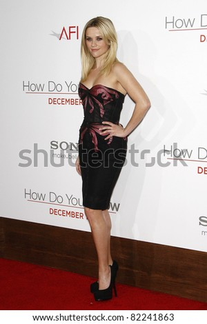 LOS ANGELES, CA - DEC 13: Reese Witherspoon at the world premiere of 'How Do You Know' held at the Regency Village Theater on December 13, 2010 in Los Angeles, California