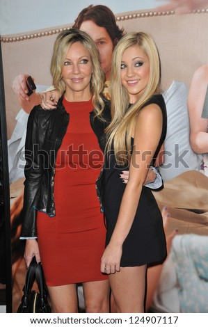 "LOS ANGELES, CA - DECEMBER 12, 2012: Heather Locklear & daughter Ava Sambora at the world premiere of Ava's movie ""This Is 40"" at Grauman's Chinese Theatre, Hollywood."
