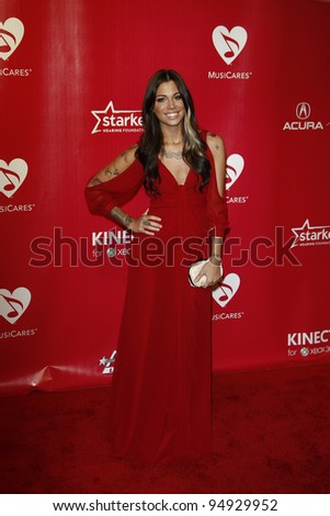LOS ANGELES, CA - FEB 10: Christina Perri at the 2012 MusiCares Person of the Year Tribute To Paul McCartney at the LA Convention Center on February 10, 2012 in Los Angeles, California