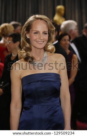 LOS ANGELES, CA - FEB 24: Helen Hunt at the 85th Annual Academy Awards on February 24, 2013 in Los Angeles, California