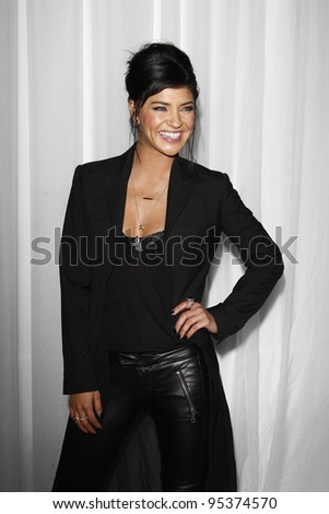 LOS ANGELES, CA - FEB 15: Jessica Szohr at the Sony PlayStationAE Unveils PS VITA Portable Entertainment System at Siren Studios on February 15, 2012 in Los Angeles, California
