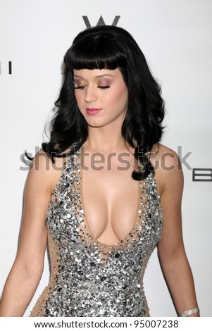 LOS ANGELES, CA - FEB 13: Katy Perry at the EMI GRAMMY After-Party at Milk Studios on February 13, 2011 in Los Angeles, California