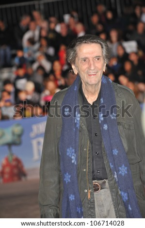 "LOS ANGELES, CA - FEBRUARY 14, 2011: Harry Dean Stanton at the Los Angeles premiere of his new animated movie ""Rango"" at the Regency Village Theatre, Westwood. February 14, 2011  Los Angeles, CA"