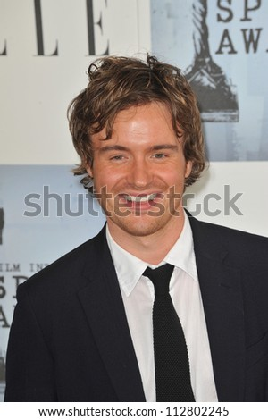LOS ANGELES, CA - FEBRUARY 21, 2009: Jamie Thomas King at the Film Independent Spirit Awards on the beach at Santa Monica