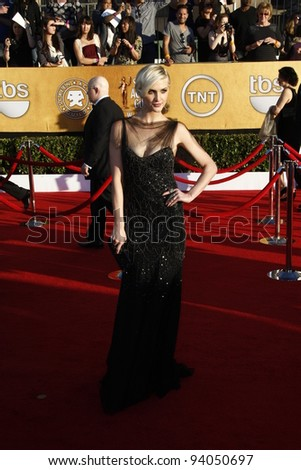 LOS ANGELES, CA - JAN 29: Ashlee Simpson at the 18th annual Screen Actor Guild Awards at the Shrine Auditorium on January 29, 2012 in Los Angeles, California