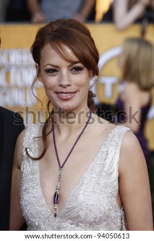 LOS ANGELES, CA - JAN 29: Berenice Bejo at the 18th annual Screen Actor Guild Awards at theShrine Auditorium on January 29, 2012 in Los Angeles, California