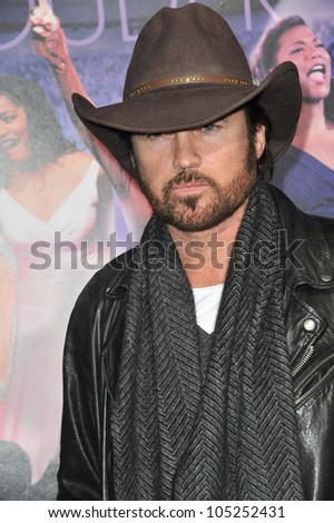 "LOS ANGELES, CA - JANUARY 9, 2012: Billy Ray Cyrus at the world premiere of ""Joyful Noise"" at Grauman's Chinese Theatre, Hollywood. January 9, 2012  Los Angeles, CA"