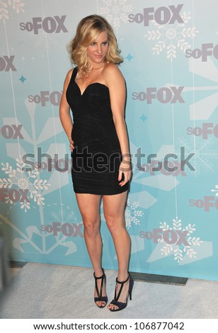 "LOS ANGELES, CA - JANUARY 11, 2011: ""Glee"" star Heather Morris at the Fox All-Star Party Winter 2011 in Pasadena. January 11, 2011  Pasadena, CA"