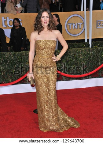 LOS ANGELES, CA - JANUARY 27, 2013: Jennifer Garner at the 19th Annual Screen Actors Guild Awards at the Shrine Auditorium, Los Angeles.