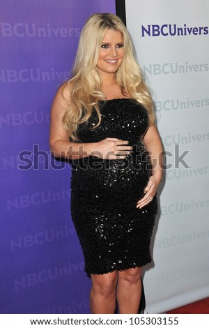 LOS ANGELES, CA - JANUARY 6, 2012: Jessica Simpson at the NBC Universal Winter 2012 TCA party at The Athenaeum in Pasadena. January 6, 2012  Los Angeles, CA