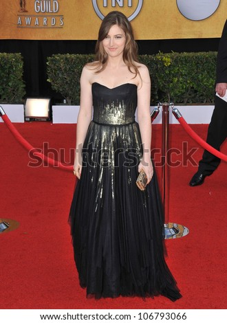 LOS ANGELES, CA - JANUARY 30, 2011: Kelly Macdonald at the 17th Annual Screen Actors Guild Awards at the Shrine Auditorium. January 30, 2011  Los Angeles, CA