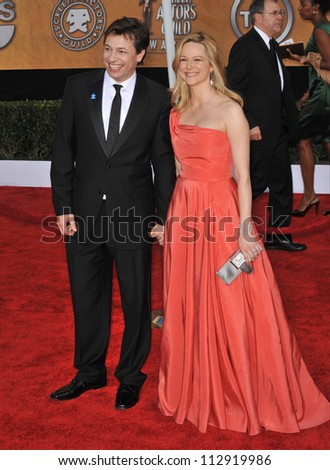 LOS ANGELES, CA - JANUARY 25, 2009: Laura Linney at the 15th Annual Screen Actors Guild Awards at the Shrine Auditorium, Los Angeles.