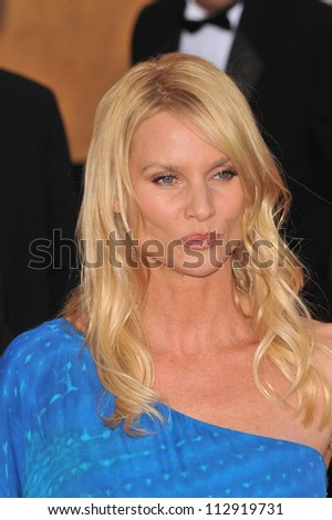 LOS ANGELES, CA - JANUARY 25, 2009: Nicolette Sheridan at the 15th Annual Screen Actors Guild Awards at the Shrine Auditorium, Los Angeles.