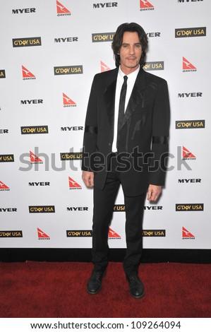 LOS ANGELES, CA - JANUARY 16, 2010: Rick Springfield at the 2010 G'Day USA Australia Week Black Tie Gala at the Grand Ballroom at Hollywood & Highland.