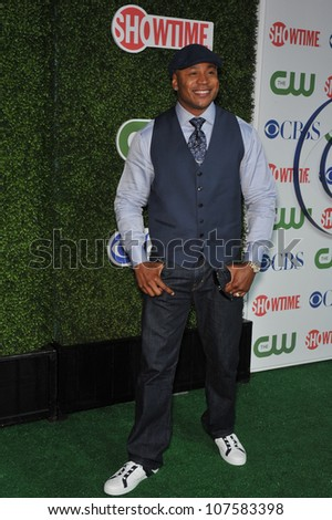 """LOS ANGELES, CA - JULY 28, 2010: LL Cool J - star of """"NCIS: Los Angeles"""" - at CBS TV Summer Press Tour Party in Beverly Hills."""
