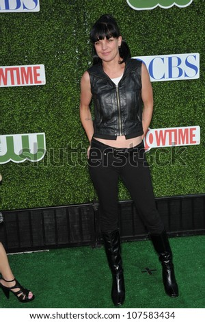 "LOS ANGELES, CA - JULY 28, 2010: ""NCIS"" star Pauley Perrette at CBS TV Summer Press Tour Party in Beverly Hills."