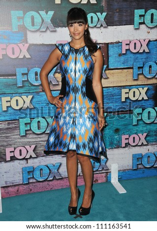 LOS ANGELES, CA - JULY 24, 2012: New Girl star Hannah Simone at the Fox Summer 2012 All-Star Party in West Hollywood.