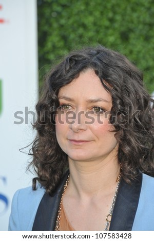 "LOS ANGELES, CA - JULY 28, 2010: Sara Gilbert - star of ""The Talk"" - at CBS TV Summer Press Tour Party in Beverly Hills."