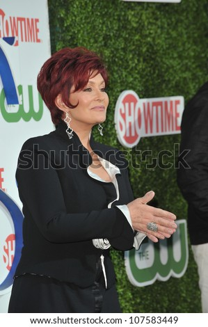 "LOS ANGELES, CA - JULY 28, 2010: Sharon Osbourne at CBS TV Summer Press Tour Party in Beverly Hills. Sharon is one of the stars of the new CBS show ""The Talk"""