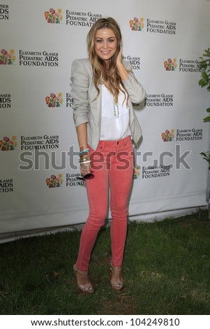 LOS ANGELES, CA - JUN 3: Carmen Electra at the 23rd Annual 'A Time for Heroes' Celebrity Picnic Benefitting the Elizabeth Glaser Pediatric AIDS Foundation on June 3, 2012 in Los Angeles, California