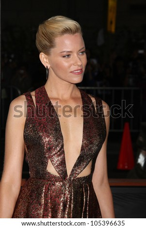 "LOS ANGELES, CA - JUN 15: Elizabeth Banks at the ""People Like Us"" LAFF Premiere at Regal Cinemas at LA Live on June 15, 2012 in Los Angeles, California"