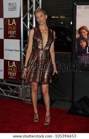 "LOS ANGELES, CA - JUN 15: Elizabeth Banks at the ""People Like Us"" LAFF Premiere at Regal Cinemas at LA Live on June 15, 2012 in Los Angeles, California"