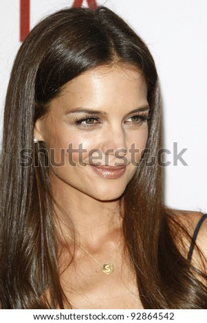 LOS ANGELES, CA - JUN 26: Katie Holmes at the premiere of 'Don't Be Afraid Of The Dark' held at the Regal Cinemas L.A. Live in Los Angeles, California on June 26, 2011.