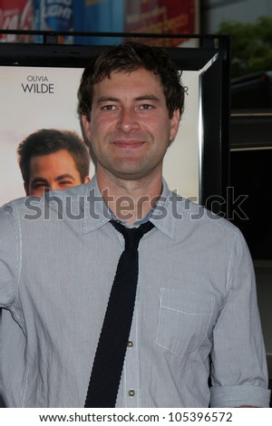 """LOS ANGELES, CA - JUN 15: Mark Duplass at the """"People Like Us"""" LAFF Premiere at Regal Cinemas at LA Live on June 15, 2012 in Los Angeles, California - stock photo"""