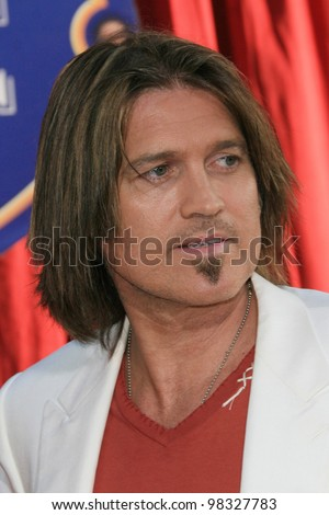 LOS ANGELES, CA - JUNE 22: Billy Ray Cyrus at the world premiere of 'Ratatouille' at the Kodak Theater in on June 22, 2007 in Los Angeles, California - stock photo