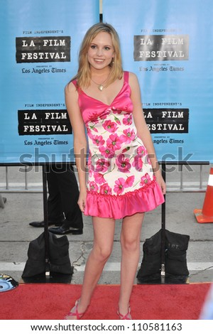 """LOS ANGELES, CA - JUNE 18, 2009: Meaghan Martin at the world premiere of """"Paper Man"""" at the Mann Village Theatre, Westwood."""